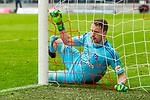 10.03.2018, Allianz Arena, Muenchen, GER, 1.FBL,  FC Bayern Muenchen vs. Hamburger SV, im Bild Christian Mathenia (HSV #1) im tor<br /> <br />  Foto &copy; nordphoto / Straubmeier