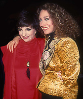 #LizaMinnelli #MarisaBerenson 1991<br /> Photo By Adam Scull/PHOTOlink.net