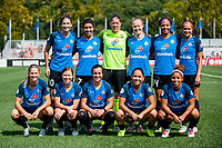 Kansas City, MO - Saturday September 9, 2017: Katie Bowen, Yael Averbuch, Becca Moros, Sydney Miramontez, Christina Gibbons, Nicole Barnhart, Lo'eau Labonta, Becky Sauerbrunn, Sydney Leroux Dwyer, Desiree Scott, Shea Groom during a regular season National Women's Soccer League (NWSL) match between FC Kansas City and the Chicago Red Stars at Children's Mercy Victory Field.