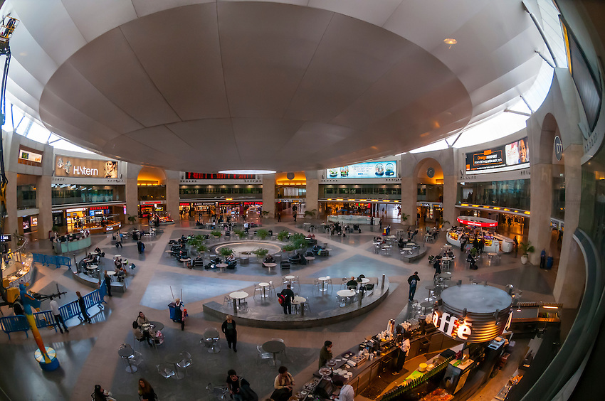Duty free rotunda Ben Gurion International Airport Israel