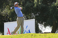 Gonzalo Fdez-Castano (ESP) during the final day of the  Andalucía Masters at Club de Golf Valderrama, Sotogrande, Spain. .Picture Denise Cleary www.golffile.ie