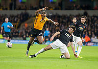 2020 FA Cup Football Wolves v Manchester United Jan 4th