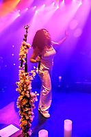 LONDON, ENGLAND - APRIL 10: Mahalia (Mahalia Burkmar) performing at Shepherd's Bush Empire on April 10, 2019 in London, England.<br /> CAP/MAR<br /> ©MAR/Capital Pictures