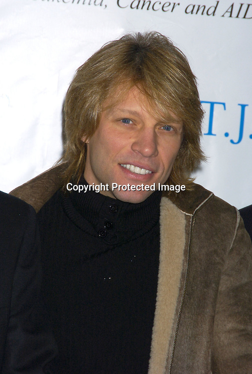 Jon Bon Jovi..at a Luncheon on February 8, 2005 at the Sony Club to announce the kick-off of the upcoming 30th Anniversary gala celebration of the TJ Martell Foundation in May. ..Photo by Robin Platzer, Twin Images