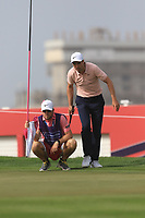 Ross Fisher (ENG) on the 8th during Round 2 of the Omega Dubai Desert Classic, Emirates Golf Club, Dubai,  United Arab Emirates. 25/01/2019<br /> Picture: Golffile | Thos Caffrey<br /> <br /> <br /> All photo usage must carry mandatory copyright credit (© Golffile | Thos Caffrey)