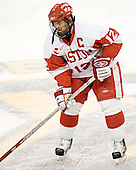 Brad Zancanaro - The Boston University Terriers defeated the Boston College Eagles 2-1 in overtime in the March 18, 2006 Hockey East Final at the TD Banknorth Garden in Boston, MA.