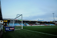 Scunthorpe Utd's Britcon stand before the Sky Bet League 1 match between Scunthorpe United and Fleetwood Town at Glanford Park, Scunthorpe, England on 17 October 2017. Photo by Stephen Buckley/PRiME Media Images