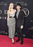 "HOLLYWOOD, CA - JUNE 04: Sophie Turner (L) and Joe Jonas arrive at the Premiere Of 20th Century Fox's ""Dark Phoenix"" at TCL Chinese Theatre on June 04, 2019 in Hollywood, California.<br /> CAP/ROT/TM<br /> ©TM/ROT/Capital Pictures"
