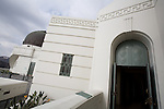 Entrance to the Samuel Oschin Planetarium at Griffith Observatory, Los Angeles, CA