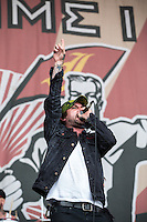 Every Time I Die performing at The Big Day Out, Melbourne, Flemington Racecourse, 26 January 2013