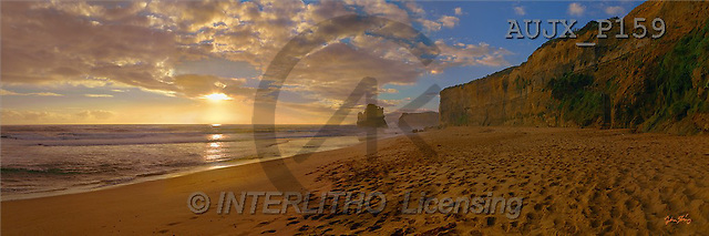 Dr. Xiong, LANDSCAPES, panoramic, photos, Gibsons Steps, Australia(AUJXP159,#L#)