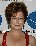 SANTA MONICA, CA. - September 10: Carolyn Hennesy arrives at the A Smile for Every Child Gala at the Hotel Shangri-La on September 10, 2009 in Santa Monica, California.