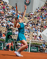 Paris, France, 27 May, 2018, Tennis, French Open, Roland Garros,  Elina Svitolina (UKR)<br /> Photo: Henk Koster/tennisimages.com