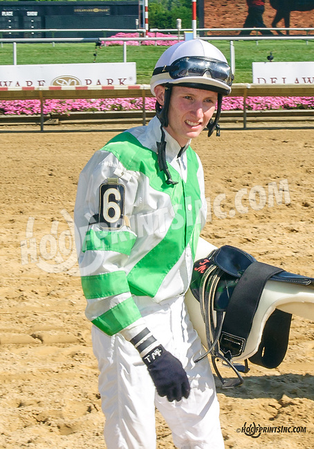 Trevor McCarthy afterThe Kent Stakes (gr 3) at Delaware Park on 7/18/15