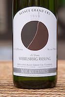 Wiebelsberg Riesling la Dame Grand Cru 1999. Illustration: David Tremlett. Domaine Marc Kreydenweiss, Andlau, Alsace, France