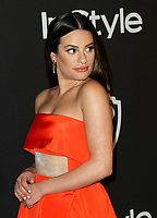 06 January 2019 - Beverly Hills , California - Lea Michele. 2019 InStyle and Warner Bros. 76th Annual Golden Globe Awards After Party held at The Beverly Hilton Hotel. Photo Credit: AdMedia
