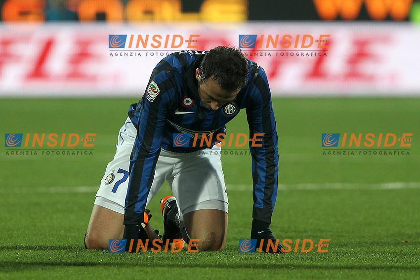 """Giampaolo Pazzini Inter..Cesena 18/12/2011 Stadio """"D.Manuzzi""""..Football / Calcio Serie A 2011/2012..Cesena vs Inter..Foto Paolo Nucci Insidefoto"""