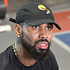 Jose Reyes of the New York Mets speaks to reporters after a workout session at Professional Athletic Performance Center in Garden City, NY on Wednesday, Feb. 1, 2017.