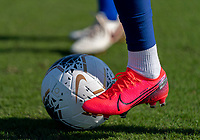 Megan Rapinoe #15 of the United States takes a touch on the Nike ball