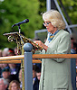 CAMILLA, DUCHESS OF CORNWALL WEARING GLASSES <br /> address the parade at Defence Medical Services (Whittington).<br /> During the visit Camilla formally dedicated the Defence Medical Services (Whittington), the new home of the Defence Medical Training at a Families Day attended by personnel, their families, and representatives from the local community_08/05/2014<br /> Mandatory Credit Photo: &copy;MOD-Crown Copyright/NEWSPIX INTERNATIONAL<br /> <br /> **ALL FEES PAYABLE TO: &quot;NEWSPIX INTERNATIONAL&quot;**<br /> <br /> IMMEDIATE CONFIRMATION OF USAGE REQUIRED:<br /> Newspix International, 31 Chinnery Hill, Bishop's Stortford, ENGLAND CM23 3PS<br /> Tel:+441279 324672  ; Fax: +441279656877<br /> Mobile:  07775681153<br /> e-mail: info@newspixinternational.co.uk