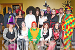 Enjoying the Halloween Fancy dress party in the Anvil bar Boolteens on Sunday night was front row l-r: Kayrena O'Dowd, Patricia Griffin, Elizabeth O'Connor, Nicky Foley, Kathleen Ladden. Back row: Ian Griffin, Sheila O'Connor, Johnny Daly, Karina Griffin, Elaine Griffin, Pa Kelliher, Karen Nagle, Anthony Foley and Seamus O'Connor..