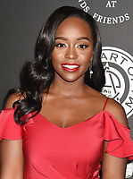 SANTA MONICA, CA - JANUARY 06: Actress Aja Naomi King arrives at the The Art Of Elysium's 11th Annual Celebration - Heaven at Barker Hangar on January 6, 2018 in Santa Monica, California.<br /> CAP/ROT/TM<br /> &copy;TM/ROT/Capital Pictures
