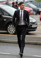 Pictured: Federico Fernandez arrives Wednesday 11 May 2016<br /> Re: Awards Dinner 2016, at the Liberty Stadium, south Wales, UK.