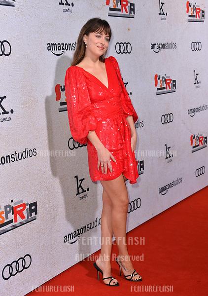 "LOS ANGELES, CA. October 24, 2018: Dakota Johnson at the Los Angeles premiere for ""Suspiria"" at the Cinerama Dome.<br /> Picture: Paul Smith/Featureflash"