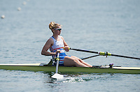 Caversham, Nr Reading, Berkshire.<br /> <br /> Holly NIXON, Olympic Rowing Team Announcement morning training before the Press conference at the RRM. Henley.<br /> <br /> Thursday  09.06.2016<br /> <br /> [Mandatory Credit: Peter SPURRIER/Intersport Images]