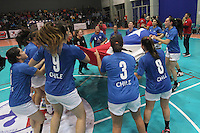 Balonmano 2016 Panamericano Femenino Juvenil Chile vs Canadá