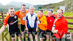 Alan O'RIelly, John Chute, Sean Walsh, Larry McGrene, Hugo Sweeney and Mark Lemon Cyclists at the Ring of Kerry Charity Cycle on Saturday.