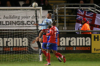 Scott Rendell of Aldershot Town goes close during Dagenham & Redbridge vs Aldershot Town, Vanarama National League Football at the Chigwell Construction Stadium on 10th February 2018