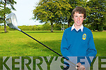 John Moran from The Spa who played for the U15 Munster Golf squad at the weekend.