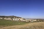 Israel, Menashe Heights, A view of Yokneam from Hanot Kira
