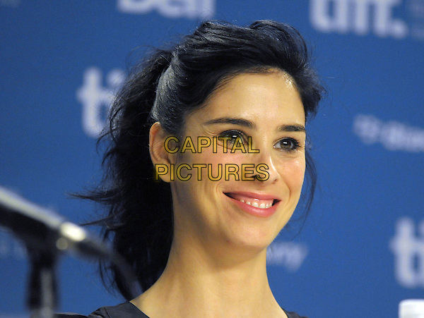 "Sarah Silverman.""Take This Waltz"" Press Conference  - 2011 Toronto International Film Festival held at TIFF Bell Lightbox, Toronto, Ontario, Canada..September 11th, 2011.headshot portrait  .CAP/ADM/BPC.©Brent Perniac/AdMedia/Capital Pictures."