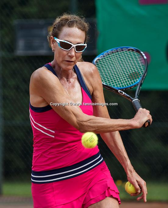 Etten-Leur, The Netherlands, August 27, 2016,  TC Etten, NVK, Carole de Bruin (NED)<br /> Photo: Tennisimages/Henk Koster
