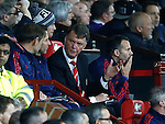 Louis van Gaal manager of Manchester United on the bench - English Premier League - Manchester Utd vs Chelsea - Old Trafford Stadium - Manchester - England - 28th December 2015 - Picture Simon Bellis/Sportimage