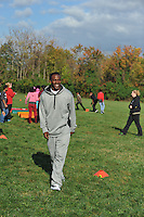 Ed Reed hosted his second annual Fitness Day at the Seed School of Maryland to promote fitness and exercise in today's youth.