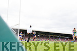 Paul Geaney scores Kerrys Second goal against Tipperary in the Senior Munster Football Final at Fitzgerald Stadium, Killarney on Sunday.