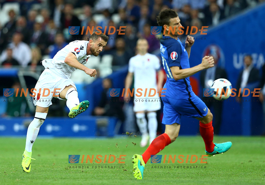 Ermir Lenjani Albania Marseille 15-06-2016 Stade Velodrome Footballl Euro2016 France - Albania / Francia - Albania Group Stage Group A. Foto Matteo Ciambelli / Insidefoto