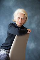 Amelia Lodigiani, Editore italiana ( Ipernorea). Salone del Libro 2017. © Leonardo Cendamo