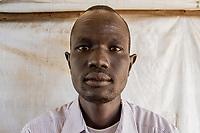 Peter Gatkuoth, Flüchtling aus dem Südsudan, im Flüchtlingslager BidiBidi Uganda