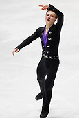 24th March 2018, Mediolanum Forum, Milan, Italy;  Mikhail Kolyada (RUS), MARCH 24, 2018 - Figure Skating : ISU World Figure Skating Championship  Men's Free Skating at Mediolanum Forum in Milan, Italy.