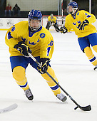 Jacob Josefson (Sweden - 26) - Sweden defeated the Czech Republic 4-2 at the Urban Plains Center in Fargo, North Dakota, on Saturday, April 18, 2009, in their final match of the 2009 World Under 18 Championship.