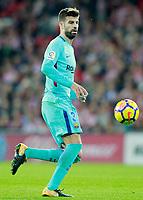 FC Barcelona's Gerard Pique during La Liga match. October 28,2017. (ALTERPHOTOS/Acero) /NortePhoto.com