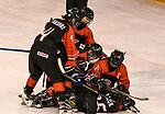 07.01.2020, BLZ Arena, Füssen / Fuessen, GER, IIHF Ice Hockey U18 Women's World Championship DIV I Group A, <br /> Ungarn (HUN) vs Japan (JPN), <br /> im Bild Torjubel, Mei Sakurai (JPN, #4), Kyoka Tsutsumi (JPN, #5), Marin Nagaoka (JPN, #21), Ami Sasaki (JPN, #14), Hinata Corazon Lack (JPN, #16)<br /> <br /> Foto © nordphoto / Hafner