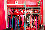 Betsey Johnson Intimates displayed during the CURVENY Designer Lingerie & Swim show, at the Jacob Javits Convention Center, August 3, 2010.