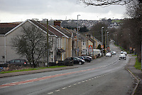 Pictured: In Llangennech, west Wales. Thursday 24 February 2017<br />