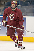 Anthony Aiello - The Boston College Eagles practiced on Wednesday, April 5, 2006, at the Bradley Center in Milwaukee, Wisconsin, in preparation for their 2006 Frozen Four Semi-Final game against the University of North Dakota.