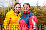 Maria Browne and Denise Lynch, Fenit, pictured at the Operation Transformation Walk at Tralee Bay Wetlands on Saturday morning last.